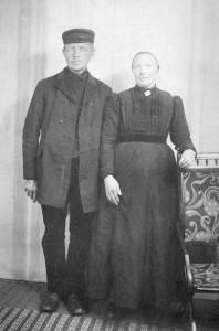 Evert Vermeer en Aartje Zandbergen