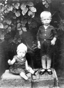 Ine en Evert Vermeer 1931 Nederland