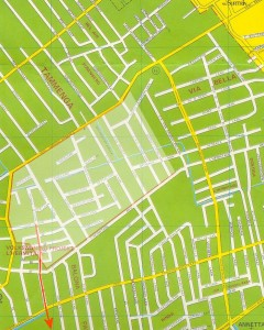 kaart van brussel met boerderij
